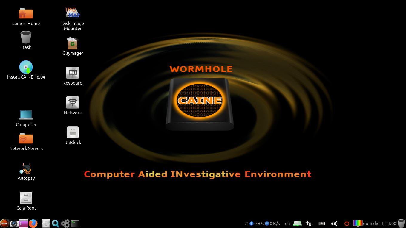 Caine Live Usb Dvd Computer Forensics Digital Forensics