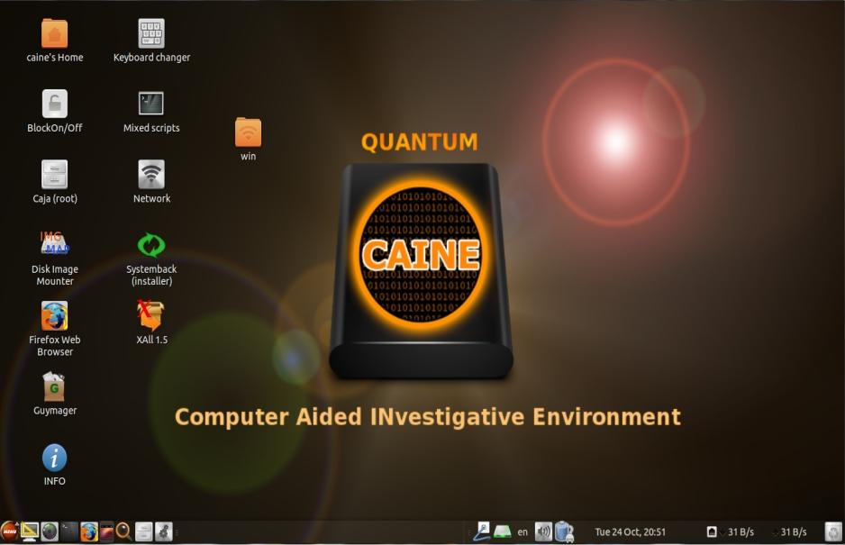 Caine Forensic Live Distro Nannib