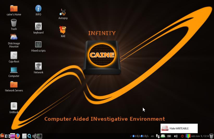 CAINE Live USB/DVD - computer forensics digital forensics